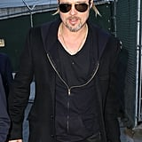 Brad Pitt Heads Home to LA Following a Stint in France