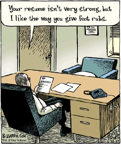 Worst Job Interview Ever