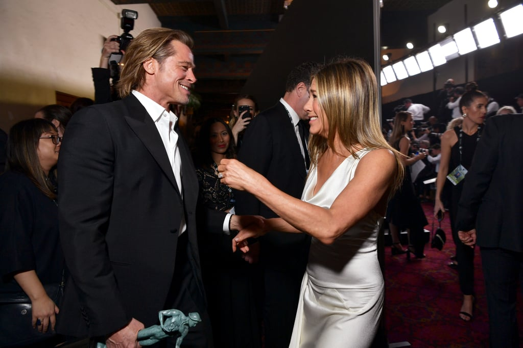 Jennifer Aniston and Brad Pitt at SAG Awards Pictures 2020