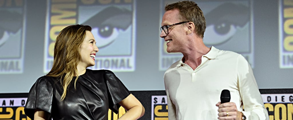 Paul Bettany and Elizabeth Olsen's Friendship in Pictures