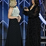 Amy Poehler and Maya Rudolph Re-Creating the Emmys Proposal