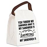 """""""My Sandwich"""" Canvas Lunch Bag"""