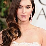 Megan Fox posed on the 2013 Golden Globes red carpet.