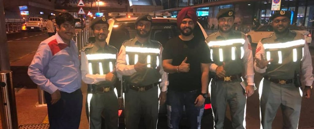 Dubai Police Reunite Indian Tourist With iPhone