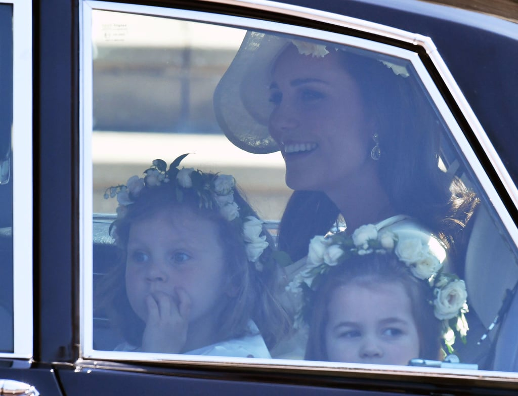 Kate Middleton's Mum Moments at the Royal Wedding 2018