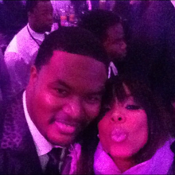 Kelly Rowland attended an after party following the Super Bowl. Source: Instagram user kellyrowland