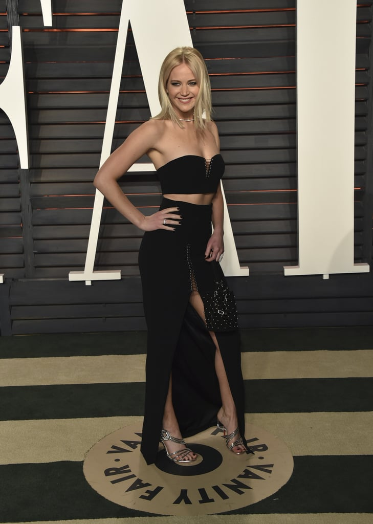 Jennifer Lawrence at Vanity Fair Oscars Party 2016