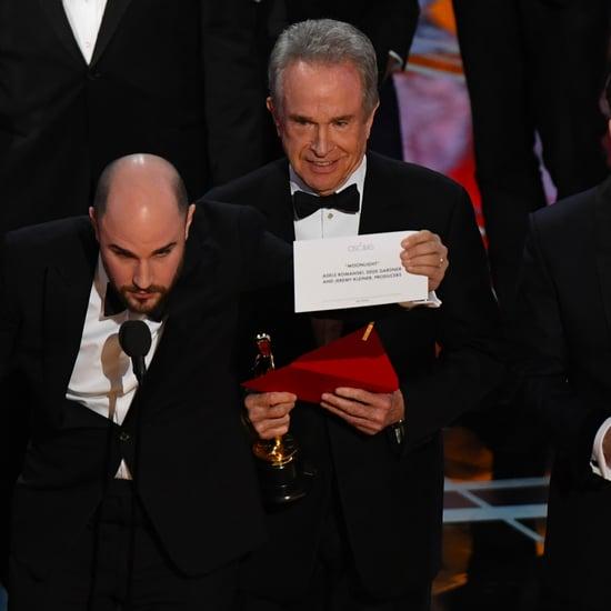 ما الذي جعل وارن بيتي يُخطئ في إعلان اسم الفيلم الفائز في ال