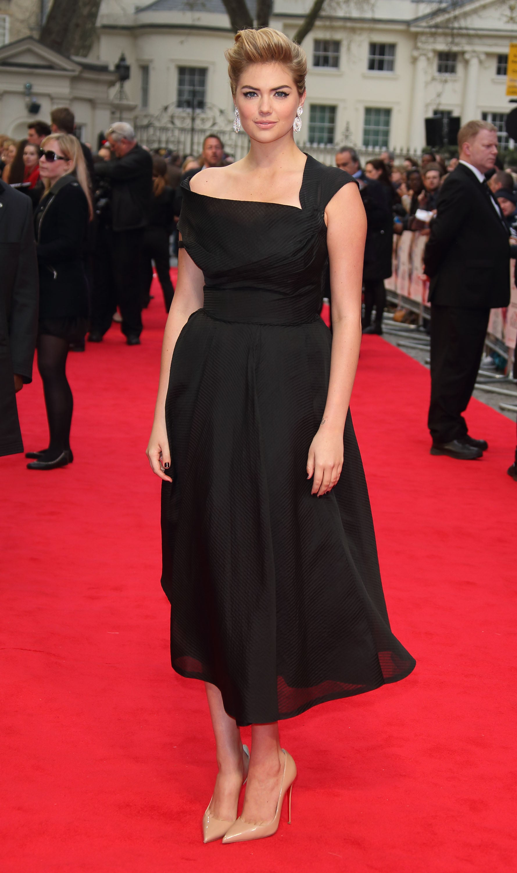 Kate Upton at the London Premiere of The Other Woman