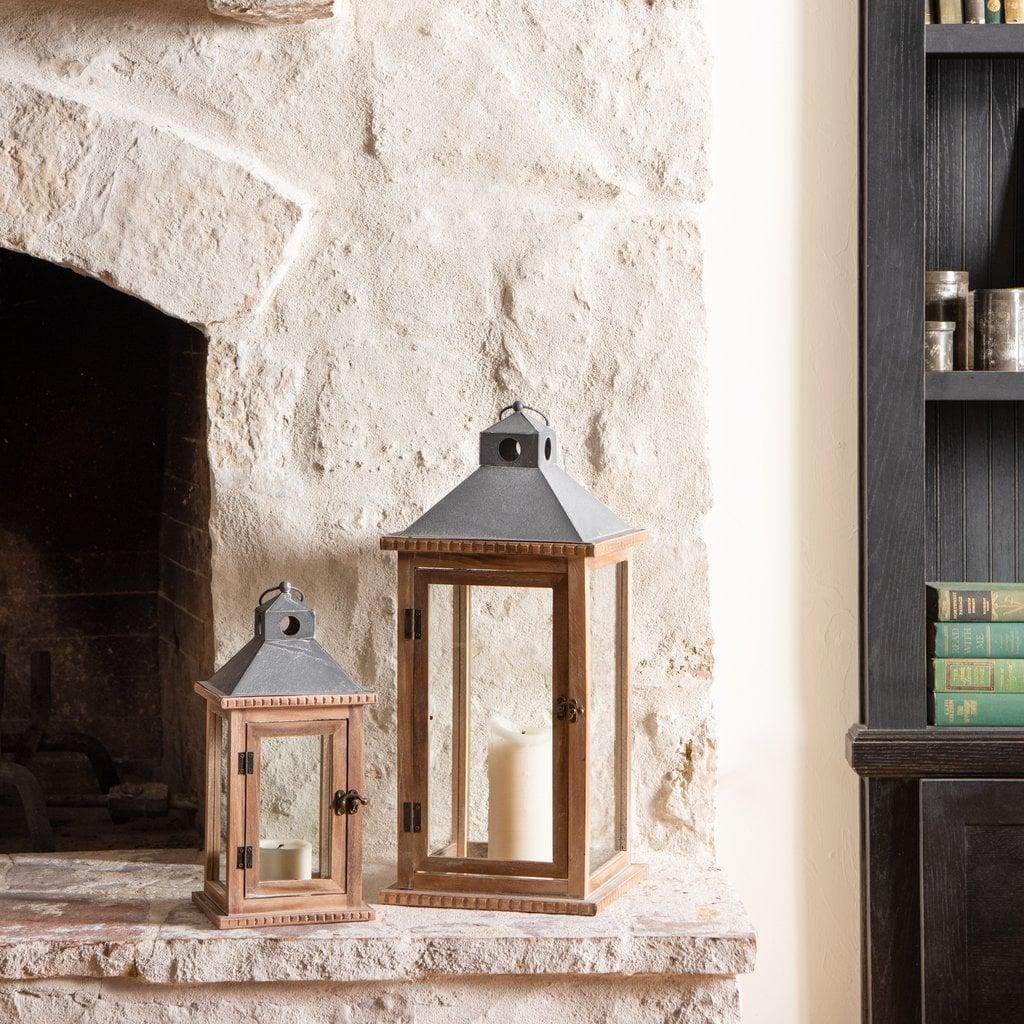 Fairfax Wood Lantern