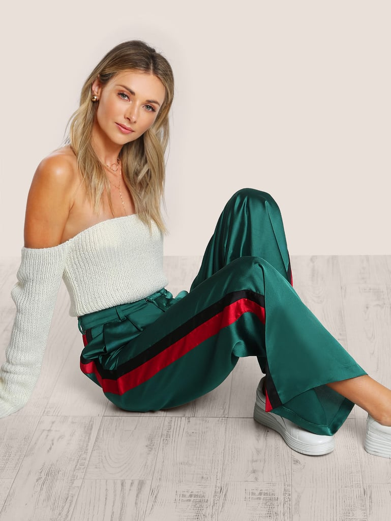 SheIn Striped Tailored Pants