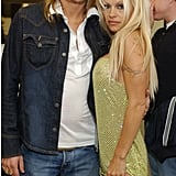 Kid Rock and Pamela Anderson married in July 2006 on a party yacht in St.-Tropez but divorced that November.