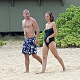 Jake and Maggie Gyllenhaal escaped to Hawaii for a few days in July 2011 when their father, Stephen, married Kathleen Man in a romantic Oahu sunset ceremony.