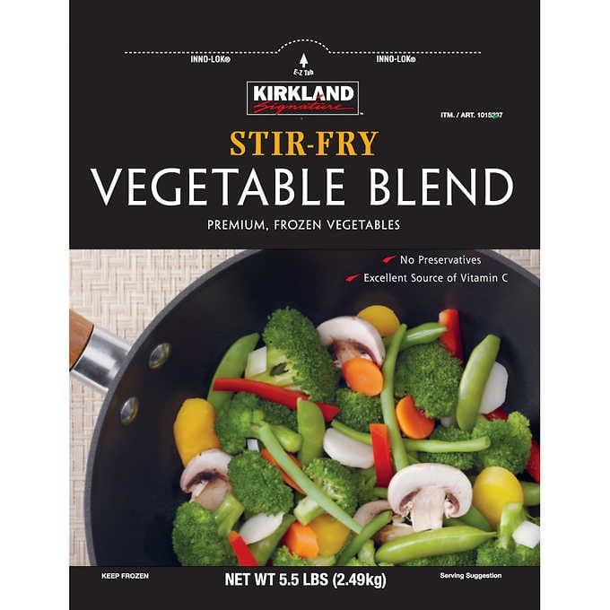 Frozen Stir-Fry Vegetables