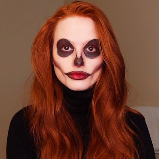 Madelaine Petsch's Halloween 2020 Skeleton Makeup | Video