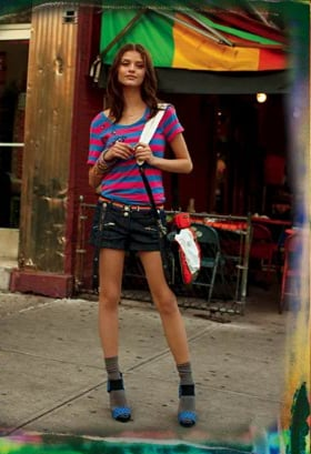 Fab Ad: DKNY Jeans Spring '09