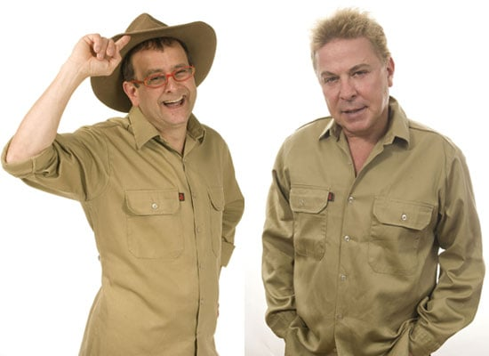 Photos of Timmy Mallet and David Van Day on I'm A Celebrity Get Me Out Of Here