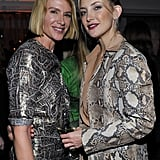 Kate Hudson chatted with Kelly Lynch.