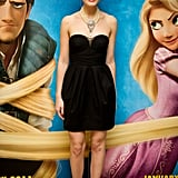 Mandy Moore Holds Her Hair High at Tangled UK Premiere