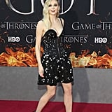 Sophie Turner Louis Vuitton Dress Game of Thrones Premiere