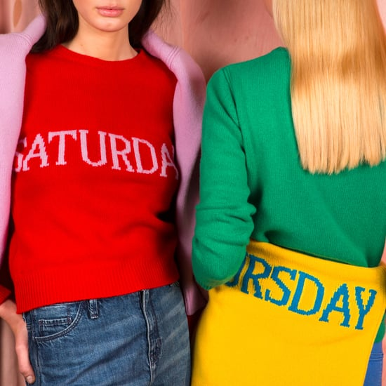 Alberta Ferretti Days-of-the-Week Sweaters