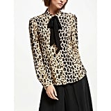 Somerset by Alice Temperley Leopard-Print Blouse