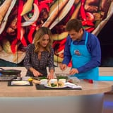 Watch Giada De Laurentiis Make Green Chicken Tenders and Broccoli Tacos With Dr. Oz
