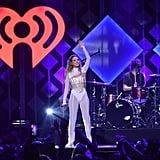 Fletcher at iHeartRadio's Jingle Ball in NYC