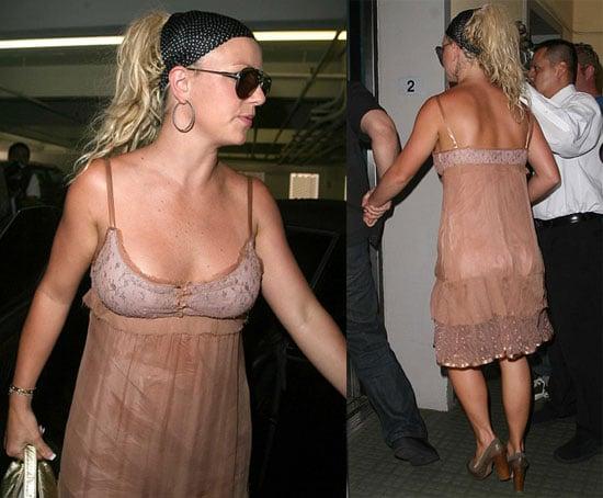 Britney's Being Bratty