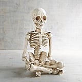Yoga Skeleton Halloween Decor