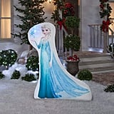 Christmas Inflatable 5' LED Photoreal Elsa Disney Frozen Outdoor Yard Decoration