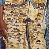 When You Zoom In Close, You Can Read the Words Printed on Her Dress