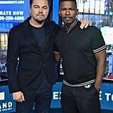 Leonardo DiCaprio and Jamie Foxx