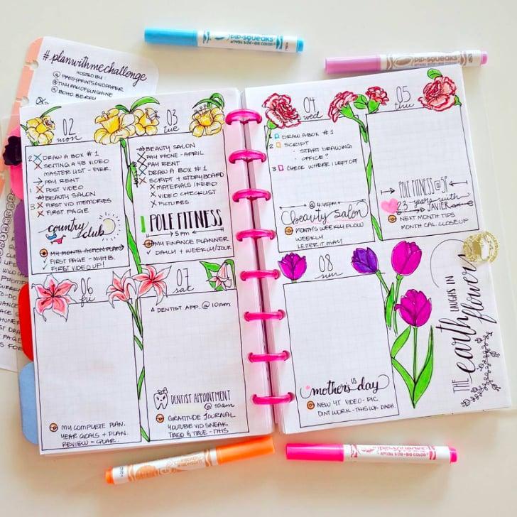 Bullet Journal Designs | POPSUGAR Smart Living