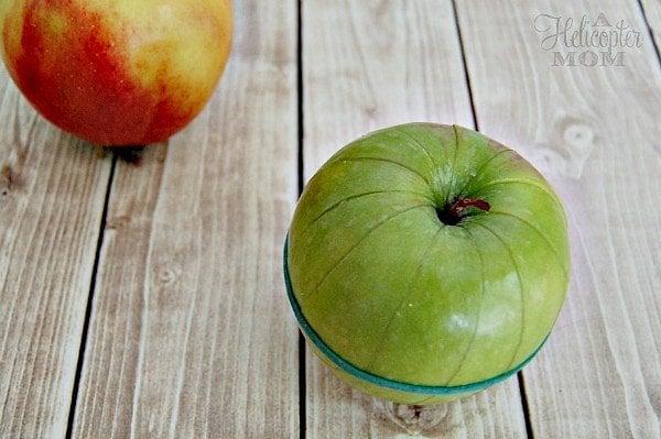 Preslice Apples