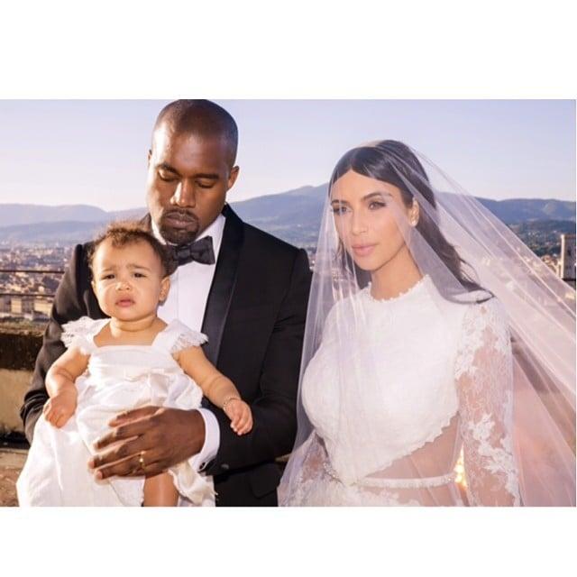 Kim Kardashian and Kanye West Wedding Pictures