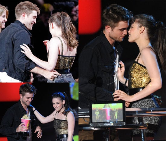Pictures of Robert Pattinson and Kristen Stewart at the 2010 MTV Movie Awards