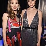 Pictured: Jessica Biel and Gal Gadot