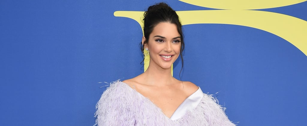 Kendall Jenner's Purple Dress CFDA Awards 2018