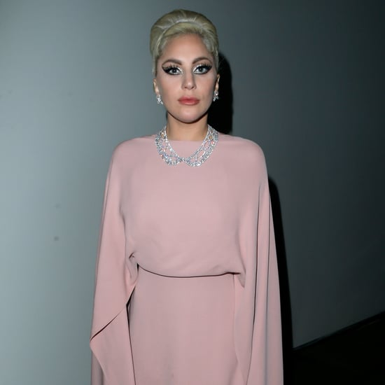 Lady Gaga in Pastel Pink Valentino Gown