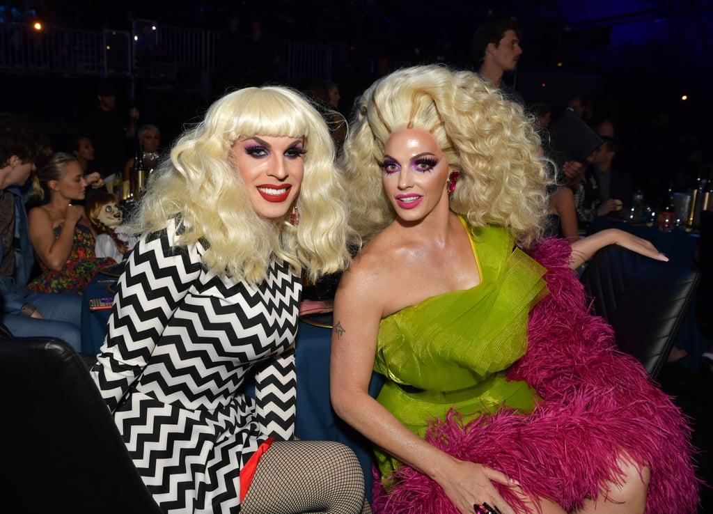 Katya Zamolodchikova and Alyssa Edwards at the 2019 MTV Movie and TV Awards