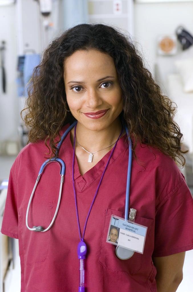 Judy Reyes as Nurse Carla Espinosa | Scrubs: Where They ...