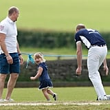 Prince William at Polo Match in England June 2017