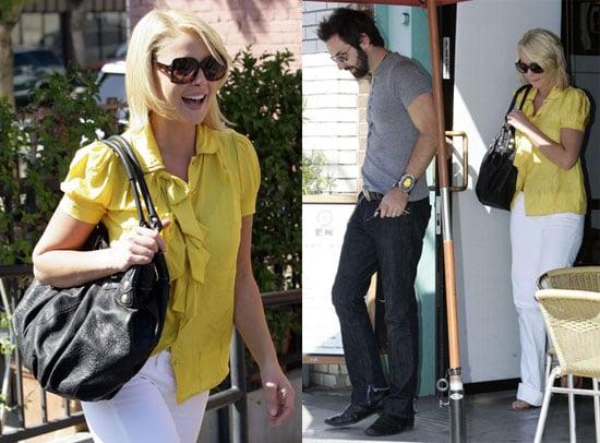 Photos of Katherine Heigl and Josh Kelley in Los Feliz