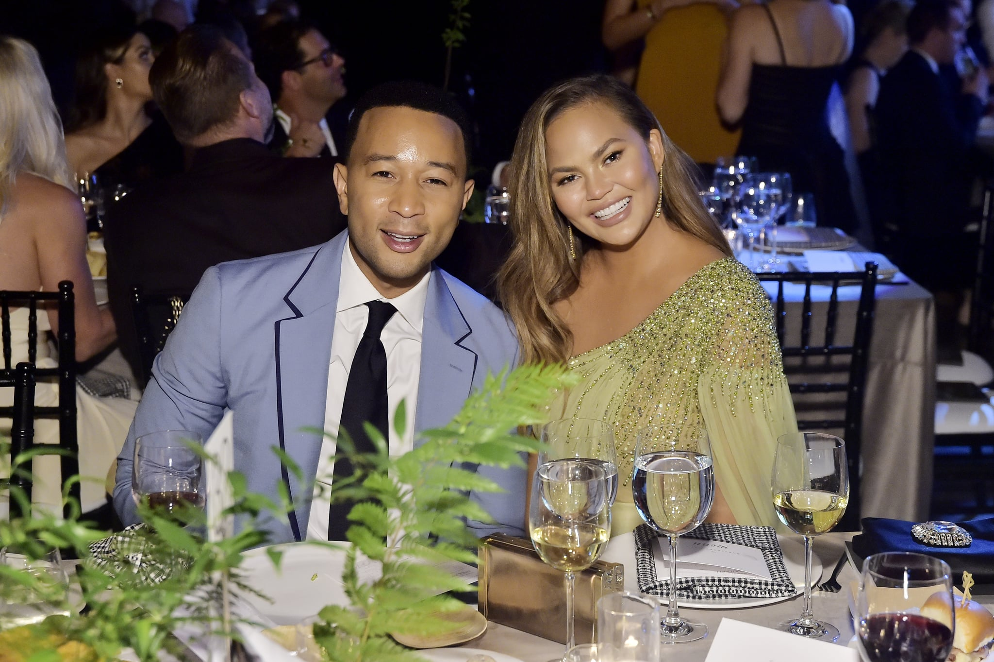 LOS ANGELES, CALIFORNIA - NOVEMBER 09: John Legend and Chrissy Teigen attend the 2019 Baby2Baby Gala presented by Paul Mitchell on November 09, 2019 in Los Angeles, California. (Photo by Stefanie Keenan/Getty Images for Baby2Baby)