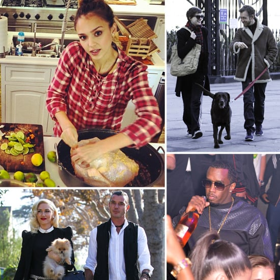 Celebrities on Thanksgiving   Pictures