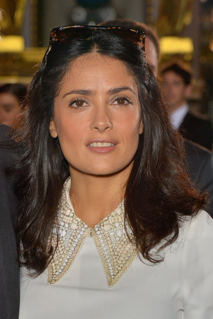 Salma Hayek at Stella McCartney Spring 2014.