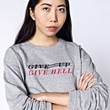 """Wildfang """"Don't Give Up"""" Crew"""
