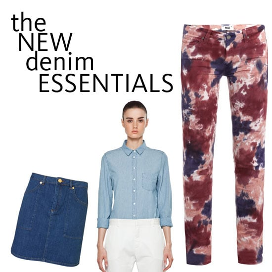 Top Five New Season Denim Buys: Paige Tie-Dye Jeans, Chambray Shirts, Wrangler Jackets & More to Shop Now!