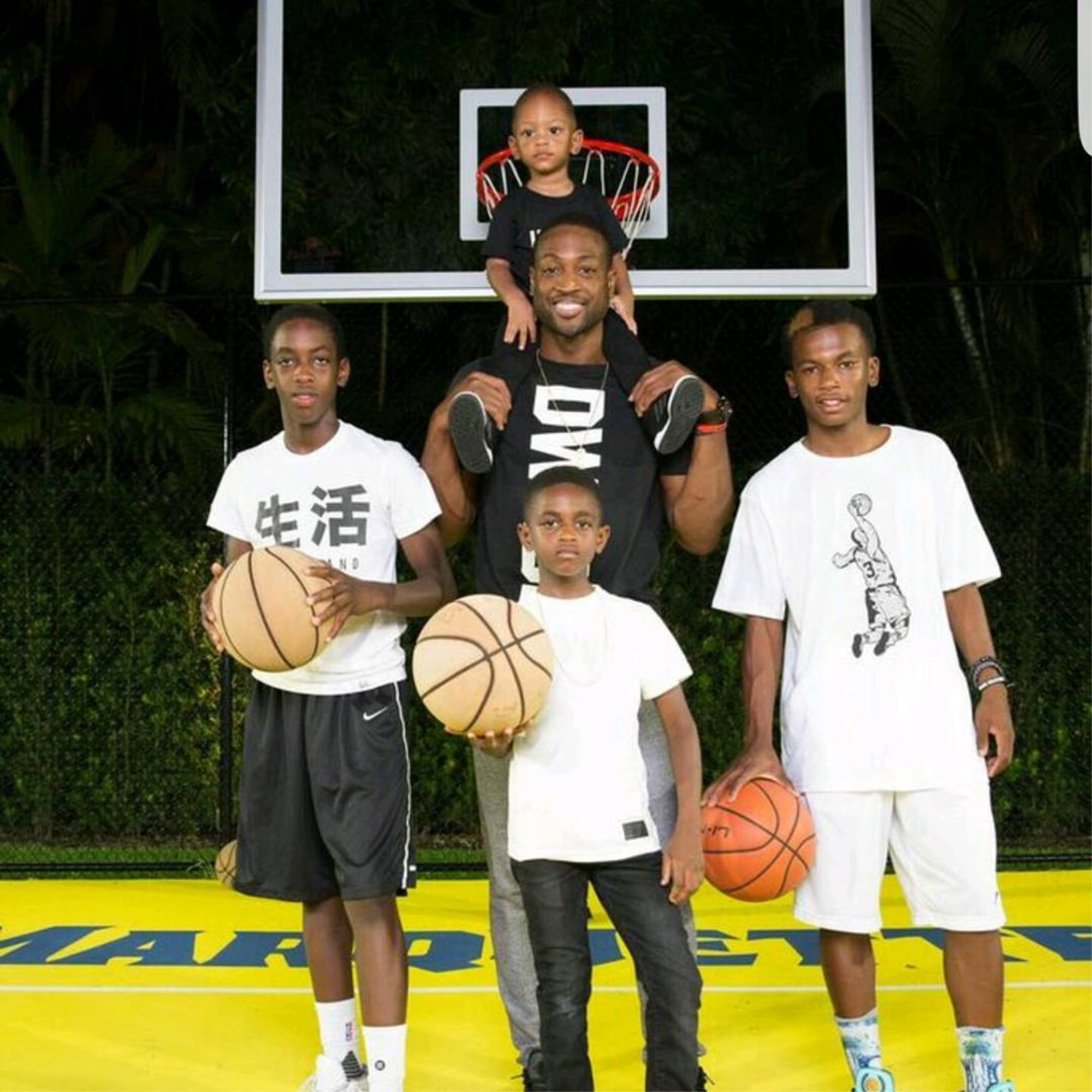 How Many Kids Does Dwyane Wade Have? | POPSUGAR Family